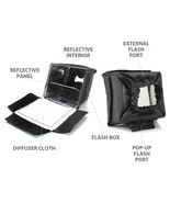 ENHANCE Camera Light Diffuser Softbox for Pop-Up and External Speedlites - $12.99
