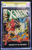 Uncanny X-Men #52 (Marvel, 1969) - CGC 8.0  Stan Lee Signed - $445.50