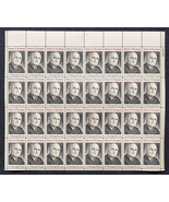Harry S. Truman, President, Sheet of 8 cent stamps, 32 stamps - $7.50