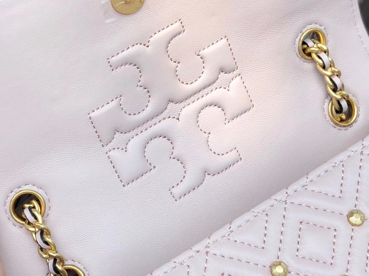 Tory Burch Fleming Stud Small Convertible Shoulder Bags