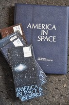 America In Space from the Franklin Mint Sterling Silver Coins Complete 2... - $577.36