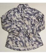 $198 ATHLETA Altitude Printed Down Puffer Jacket in Blue & White Pattern... - $48.51