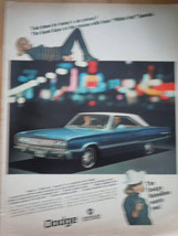 Chrysler Dodge Rebellion  Print Magazine Advertisement  1967 - $5.99