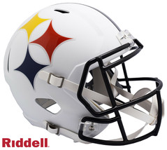 Pittsburgh Steelers AMP Alternate Series Riddell Speed Full Size Replica... - $346.45
