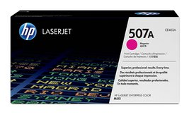 HP 507A (CE403) Genuine Magenta Toner Cartridge for 500,551,570,575 Bin:13 - $161.99