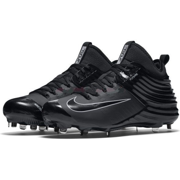factory price 0d45b 1f870 Nike Trout Flywire Baseball CLEATS-BLACK All and 50 similar items