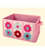 Little Bedding by NoJo Tickled Pink Collapsible Storage Bin 12.5 x 6.5 x... - $13.85