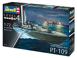Revell 05147, Patrol Torpedo Boat Pt-109, 1: 72 Scale Plastic Model - $48.47