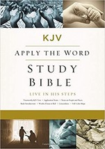 Apply the Word Study Bible: Live in His Steps, Large Print  - $60.00