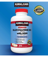 Kirkland Signature Glucosamine with MSM, 375 Tablets BRAND NEW & SEALED - $28.49