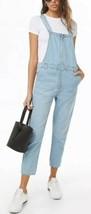 Forever 21 Jeans Gamba Dritta Caviglia Corto Zip Frontale Bavaglino - $25.54