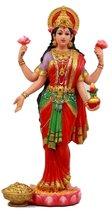 "Ebros Gift Hindu Goddess Sri Lakshmi Statue 10"" Tall Indian Shakti of Vishnu God - $39.99"