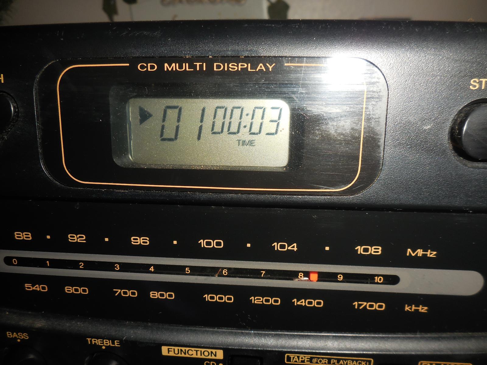 Vintage JVC PC-X95 AM/FM CD Dual Cassette and 50 similar items
