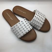White Studded Strap Sandal  - $45.00