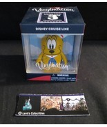 "Disney vinylmation DCL Disney Cruise Line 3"" pluto figure - $17.36"