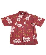 OLD NAVY Hawaiian Hawaii Floral Vacation Shirt Top Flowers Collar Boys R... - $7.91