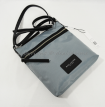 NWT MARC By Marc Jacobs M0010065 Nylon Shoulder/Crossbody Bag in Dolphin... - $149.00