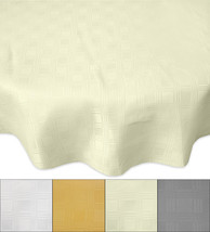 "Members Only Merida Tablecloth Liquid & Stain Resistant Fabric 70"" Round - $22.09"