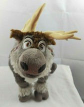 SVEN Frozen Plush Reindeer Gray Brown Harness Disney Collection 16 inches  - $14.01