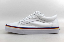 SZ White Old Vans Rainbow Skool 4 True VN0A38G1MWF Foxing Men's t8dUdqwZ