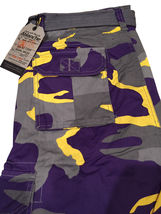 Men's Tactical Combat Military Army Cotton Twill Camo Cargo Shorts With Belt image 13