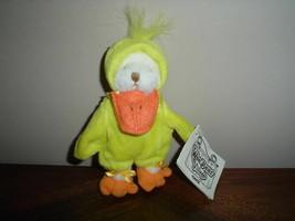 Ganz 1995 Wee Bear Village Quacks Duck Bear H2652 - $58.00
