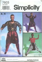 "Simplicity Vintage 1991 MC Hammer 12"" Doll Clothing Sewing Craft Pattern Uncut - $29.99"