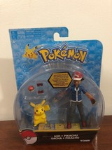 Pokemon Hero Figure Ash And Pikachu New in Damaged Packaging - Free Ship... - $15.73