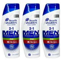 3 Head & Shoulders 2 in 1 Men Advanced Series Old Spice Fiji 12.8 fl oz each - $39.59