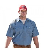 Dickies Classic Men's Short Sleeve Chambray Shirt in Small to 3XL - $34.99