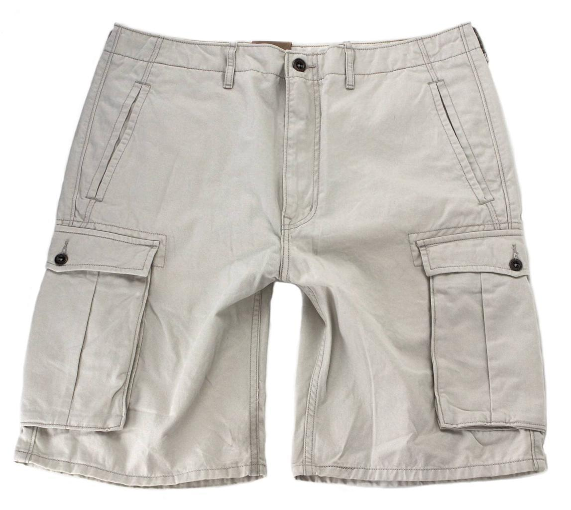 BRAND NEW LEVI'S MEN PREMIUM COTTON CARGO SHORTS ORIGINAL RELAXED FIT 124630028