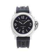 Panerai Luminor Base Steel Black Dial Luminescent Handwind Watch PAM00000 - $3,799.00