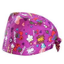George Jimmy Adjustable Tie Back Cotton Printing Cap Working Hat Beauty ... - $16.81