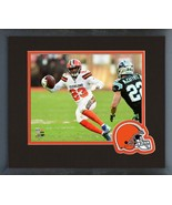 Damarious Randall 2018 Cleveland Browns -11x14 Team Logo Matted/Framed P... - $43.55
