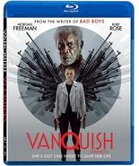 VANQUISH BLU-RAY + SLIPCOVER  - 2021 Morgan Freeman - Brand New - $19.75