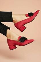 Anthropologie Elysess Faux Fur Heels Sz Eur 40/ US 10 - NWT - $129.99