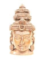 Decorative Beautiful Handwork Art Wooden Head Face Sculpture Home Décor ... - $475.00