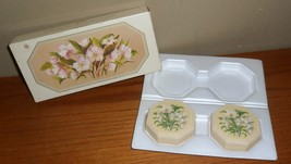Vintage Avon WILD ROSE Hostess SOAPS in Original BOX - $20.00