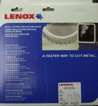"Lenox 21886 10"" X 52 Tooth Steel Cutting Saw Blade Italy - $49.50"