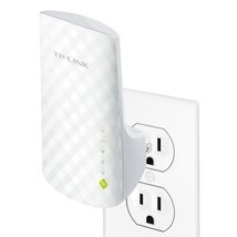 TP-Link AC750 Dual Band WiFi Range Extender Extends WiFi to Smart Home &... - $39.98
