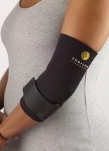 """Corflex Tennis Elbow Support Wrap - Lateral Epicondylitis Brace-XL-1/8"""" - Black - $16.99"""