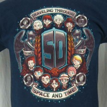 Dr. Who Traveling Through Space Time 50 Years Men's Medium T-Shirt Tardi... - $19.79
