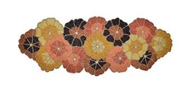 Eco Haat Zari/Zardozi beautiful Table Runner natural fabric handcrafted ... - $37.24