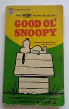 Good Ol' Snoopy Paperback Book Charles M Schutlz Peanuts Comic 1968 Vintage - $21.28
