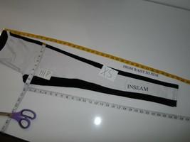 HUE 'Illusion' Colorblock Ponte Leggings Black White SIZE XS-$48 NWOT - $25.10