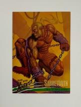 X-Men Fleer Ultra Wolverine 1996 83 Sabretooth Age of Apocalypse Trading Card - $1.97