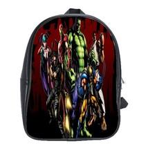 Backpack School Bag Marvel The Avengers VS Capcom Cute Funny Heroes Animation De - $33.00