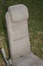 05-10 Honda Odyssey Plus One Center Middle Jump Seat FABRIC / CLOTH - Olive image 3