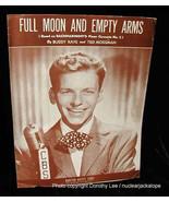 Frank Sinatra Sheet Music Full Moon & Empty Arms - $13.99