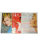 3 Vintage McCALL'S Magazines - 1960 and 1961 - $15.00